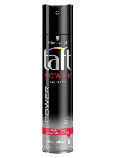 TAFT Power Kafein Saç Spreyi 250ml Renksiz